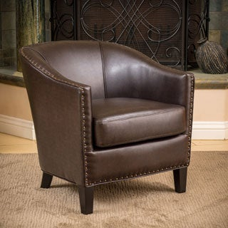Christopher Knight Home Austin Bonded Leather Club Chair