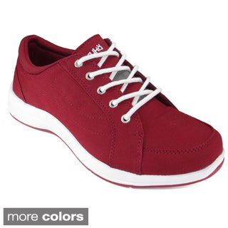 Ryka Women's Freelance Casual Fabric Tie-up Sneakers