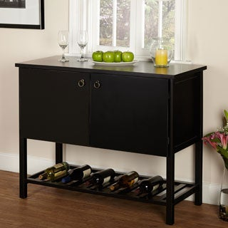 Simple Living Black Harvey Buffet