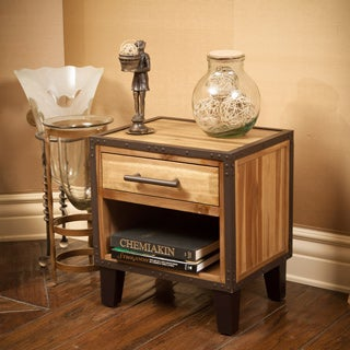 Christopher Knight Home Luna Acacia Wood Night Stand