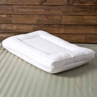 Comfort Memories 2-in-1 Reversible Memory Foam and Fiber Pillow