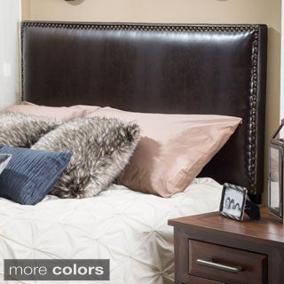 Christopher Knight Home Woodbine Leather King Headboard