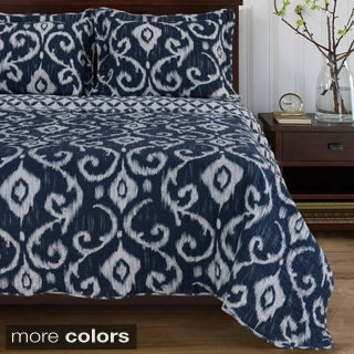Cambridge Cotton 3-piece Quilt Set