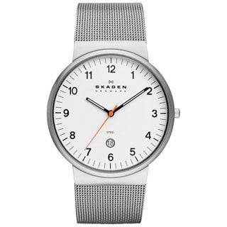 SKAGEN Klassik Mens SKW6025 Three-Hand Date Stainless Steel Watch