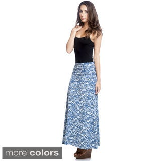Women's Organic Cotton Batik Maxi Skirt (Nepal)