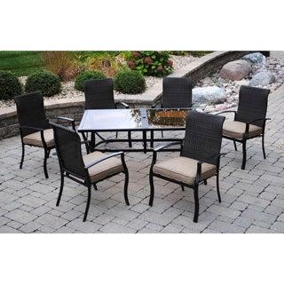Sun Casual Oak Meadow 7-piece Patio Dining Set