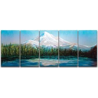Mt Hood' XL Metal Wall Art