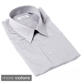 Calvin Klein Men's Pure-finish Cotton Long Sleeve Shirt