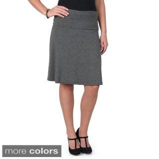 Hailey Jeans Co. Junior's Comfort A-line Skirt