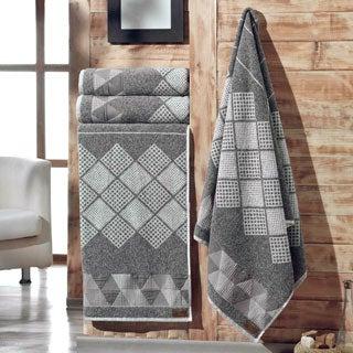 Enchante Concorde 100-percent Fine Turkish Cotton 4-piece Towel Set