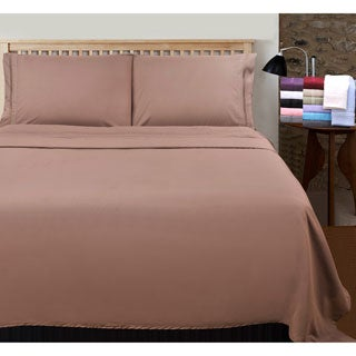 Wrinkle Resistant Embroidered 2-line Sheet Set with Gift Box