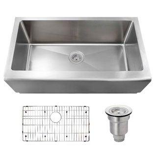 MR Direct 405 Kitchen Ensemble Stainless Steel Apron Sink