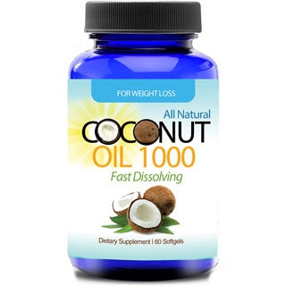 Totally Products Organic Virgin Coconut Oil Softgels (60 Count)
