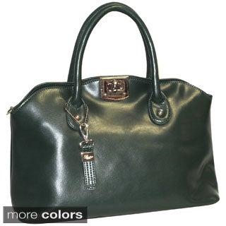 Buxton Caitlin Leather Satchel