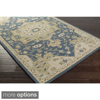 Hand-tufted Misty Traditional Wool Rug (7'6 x 9'6)