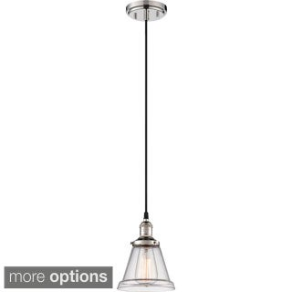 """Nuvo Vintage 1-Light 6"""" Caged Pendant"""