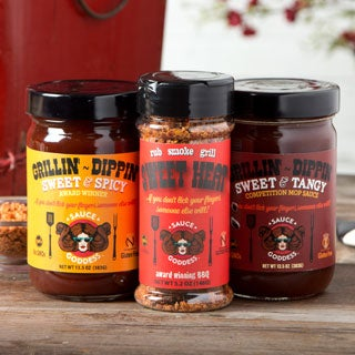 Sauce Goddess Spicy Grill Lover's Kit