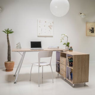 Christopher Knight Home Delta Computer Desk with Storage Cabinet