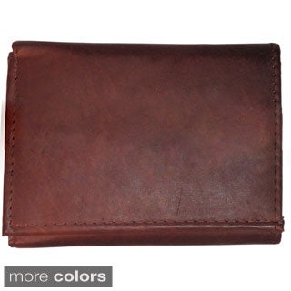 Men's Classic Genuine Leather Trifold Wallet