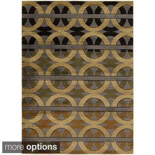 Meticulously Woven Danny Geometric Olefin Rug (7'10 x 10'3)