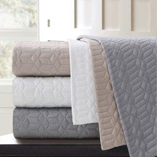 Echelon Laguna Quilted Cotton Blanket
