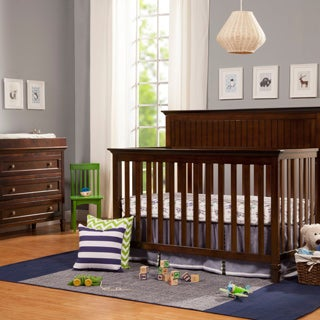 DaVinci Perse 4-in-1 Convertible Crib with Toddler Bed Conversion Kit