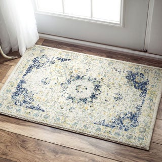 nuLOOM Traditional Persian Dark Blue Rug (2' x 3')