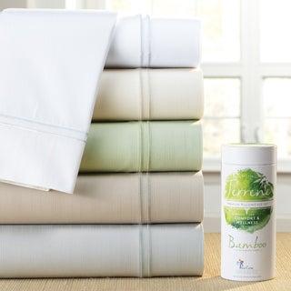 PureCare Luxurious SuperSoft Bamboo and Cotton Sateen Sheet Set