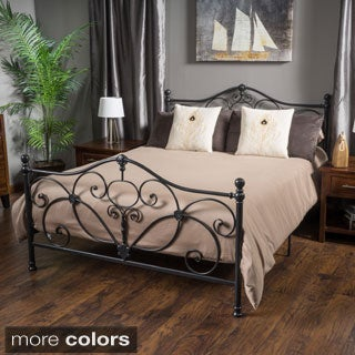 Christopher Knight Home Drummond King Size Metal Bed Frame