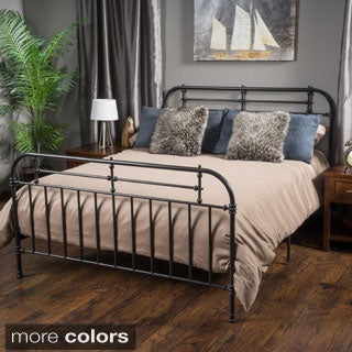 Christopher Knight Home Cromwell King Size Metal Bed Frame