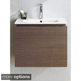 Somette Lexington 24 -Inch Vanity with Vitreous China Sink Top