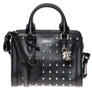 Alexander McQueen Mini Studded Padlock Handbag