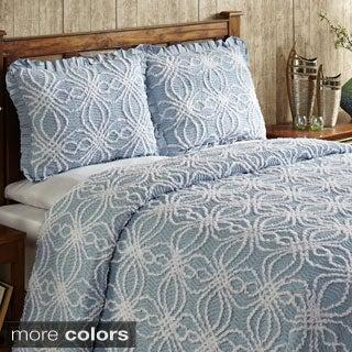 Rosa Cotton Chenille Bedspread