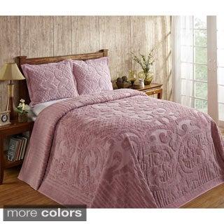 Ashton 100-percent Cotton Chenille Super Soft and Plush Bedspread (Shams Sold Separately)