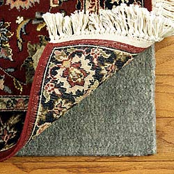Con-Tact Brand Super Movenot Premium Reversible Felt Rug Pad for Hard Surfaces and Carpet (9' x 12')