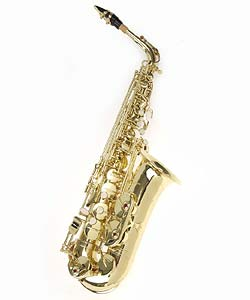Band/Orchestra ABS Hard-shell-case Alto Saxophone Package with Strap