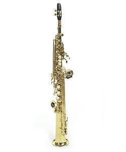 Orchestra/Band Approved Soprano Metal Brass Finish Woodwinds Saxophone