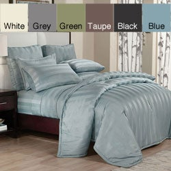 Peninsula Stripe Down Alternative 3-piece Comforter Set