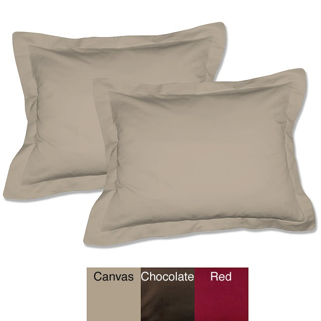 Hotel Collection Tailored Shams (Set of 2)