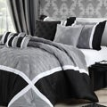 Quincy Grey 8-piece Comforter Set