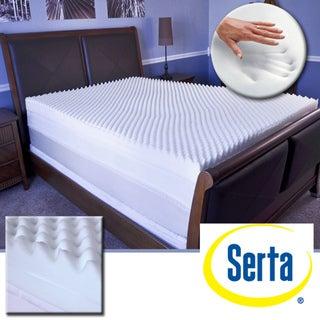 Serta Restoration 4-inch Memory Foam Mattress Topper