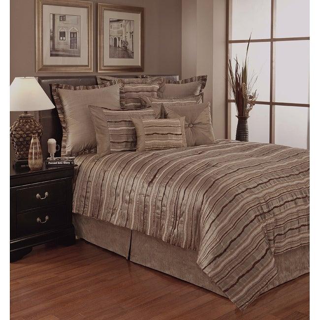 Sherry Kline Stretta Platinum 6-piece Comforter Set