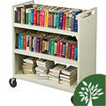 Balt Double-sided Book Cart