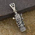 Sterling Silver 'Prayer Box' Long Pendant (Thailand)