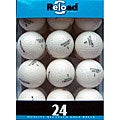 Volvik Crystal White Golf Balls (Pack of 48)