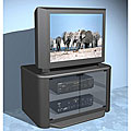 Dark Grey Swivel-base TV Stand