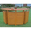 Royal Tahiti Outdoor Balau Wood Folding Bar