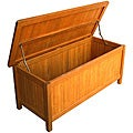Royal Tahiti Outdoor Balau Wood Storage Trunk