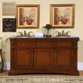 Silkroad Exclusive Oakdale Bathroom Double Sink Vanity