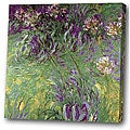 'Little Purple Flower' Giclee Print Canvas Art